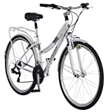 Schwinn Discover Hybrid Bike for Men and Women, 21 Speed, 28-Inch Wheels,...
