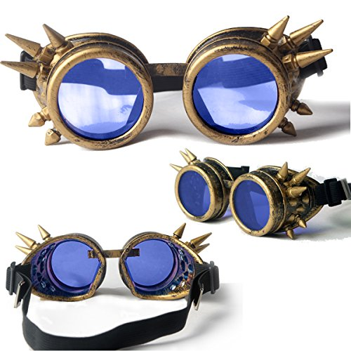 vintage aviator goggles
