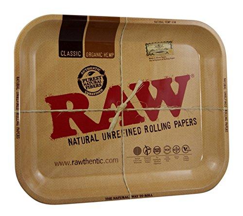 RAW Tray - Bandeja giratoria (metal, 34 x 27,5 cm, 20 bandejas, tamaño grande)