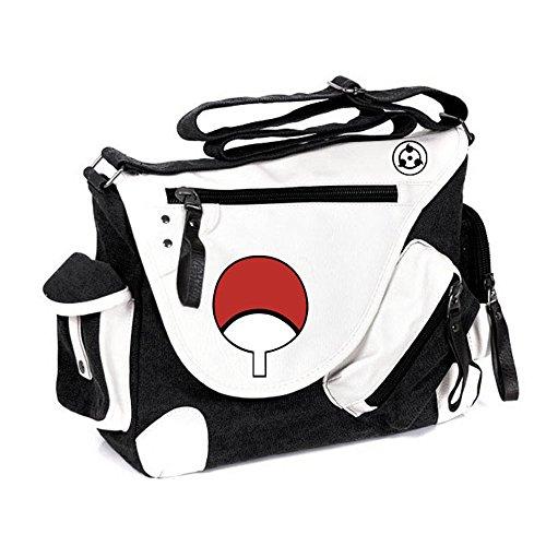 Siawasey, Handtasche / Umhängetasche / Messenger Bag, Motiv: japanischer Anime / Cosplay schwarz Naruto1