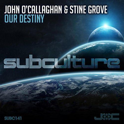 John O'Callaghan & Stine Grove
