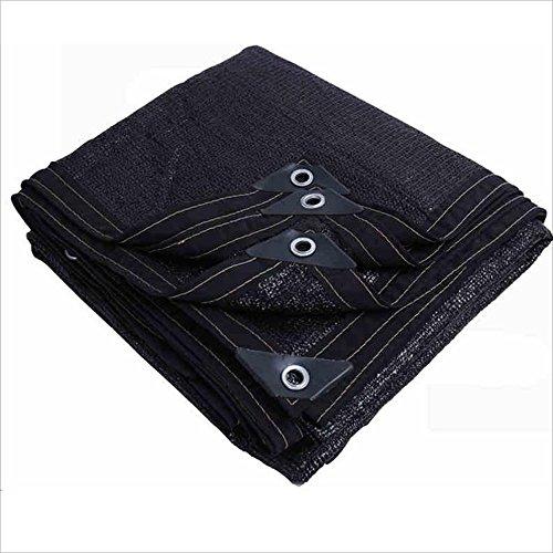 NAN 95% Sun Mesh/Tissu d'ombre de Protection Solaire/cryptage épaississement UV/Filet d'isolation extérieure Voiles d'ombrage (Taille : 2x8m)