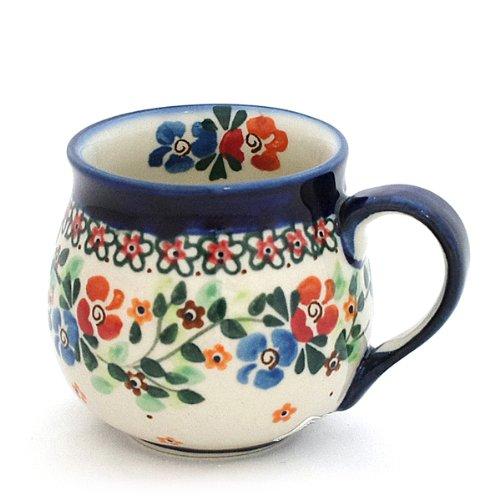 ポーリッシュポタリー/マグカップ 0.2L Ceramika Millena 1-16-b1
