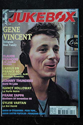 JUKEBOX 227 * 2006 * GENE VINCENT CLAUDE FRANCOIS NANCY HOLLOWAY FRANK ZAPPA SYLVIE VARTAN