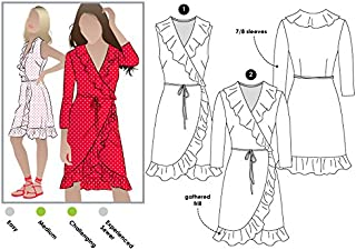 Style Arc Sewing Pattern - Giselle Dress (Sizes 04-16) - Click for Other Sizes Available