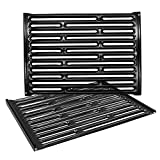 Hongso 7523 7521 7522 15 Inches Porcelain Enameled Cooking Grates Replacement for Weber Spirit E-210, Spirit S 200 & 210, Genesis Silver A, Spirit 500, 7534 65904 65905 Gas Grills, PCG523