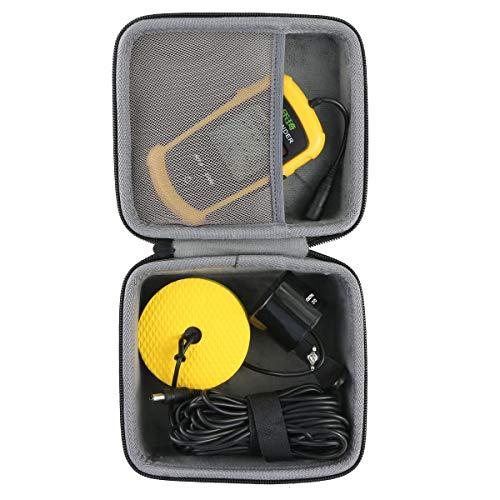 co2crea Hard Travel Case for Lucky/Venterior VT-FF001 Handheld Fish Finder Portable Fishing Kayak Fishfinder Fish Depth Finder Fishing Gear Sonar Transducer