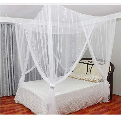 Anyasen mosquitera cama matrimonio Mosquitera Grande Mosquitera Redes antimosquitos para Cama Doble Mosca Red mosquitera protección antimosquitos para cama
