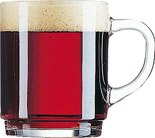 Arcoroc ARC 51451 Salzburg Teeglas, Glühweinglas, 250ml, mit Füllstrich bei 0.2l, Glas, transparent, 24 Stück