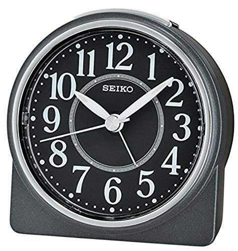 Seiko Despertador analógico Unisex Negro qhe137K