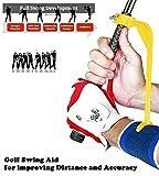 Golf Swing Guide Trainer | Accessoire d'Aide à l'entrainement - Outil de Correction pour améliorer Votre Swing et Ajuster...
