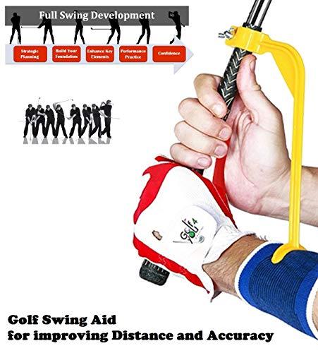 Golf Handgelenk Schwungtrainer / Golf Trainingshilfe - Entwickeln Sie eine konsistentere Schwung