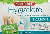 SuperDiet Hygiaflore Transit Ventre plat - Lot de 2 x 150 comprimés
