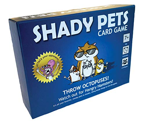 Shady Pets Card Game  FamilyFriendly Party Games  Card Games for Adults Teens amp Kids