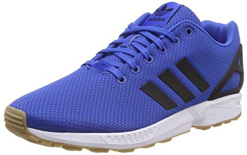 Adidas ZX Flux, Zapatillas de Running para Hombre, Multicolor (Bluecblackgum3), 42 EU