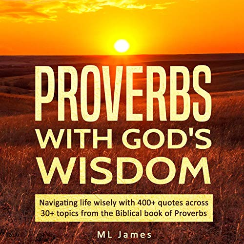 Proverbs with God's Wisdom audiobook cover art