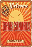 Volly Welcome To Gran Canaria Canary Islands Retro Prevent