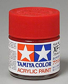Tamiya America, Inc Acrylic XF7 Flat, Red, TAM81307