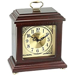 Seiko Dapper Carriage Desk and Table Clock