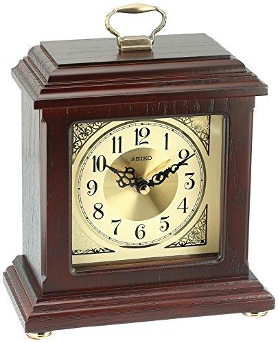 Seiko Dapper Carriage Desk and Table Clock