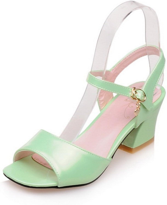 AN Womens Cold Lining Non-Marking Peep-Toe Urethane Sandals DIU00787