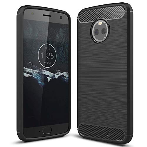 Silikon Hülle für Motorola Moto X4 | Schwarz | Mat Bumper Hülle