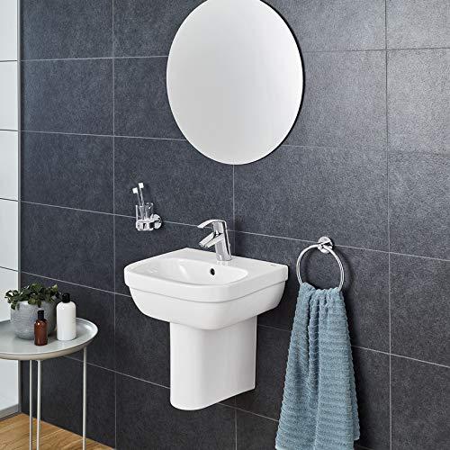 Grohe 39325 Euroalpin-Keramik für Waschbecken, Halbsäule