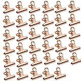 Hiinice Clips de Dogo Bisagra Clips de Papel Lima de Metal bisagra para la Cocina del Ministerio del Interior Accesorios de Oro Rosa 35PCS