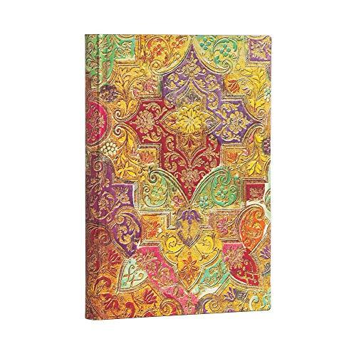 Paperblanks Cuaderno de tapa blanda Flexis, papel brocado | rayado | Midi (130 × 180 mm)