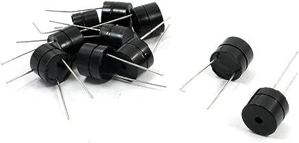 uxcell 10pcs 12x9.5mm Continuous Sound Active Magnetic Buzzer DC12V 95dB