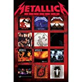 Pyramid International Maxi-Poster Metallica, Albums