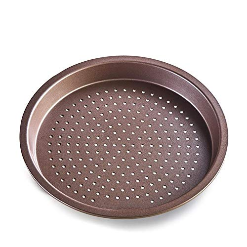 Baking Tray, Sturdy And Durable Punching Pizza Deep Dish Easy To Separate From The Mold Non-stick Baking Tray Baking Special cookie sheet (Size : 20.3X2.4cm)