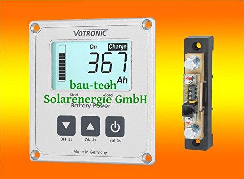 Votronic S100 Batterie Computer mit Mess Shunt für Batterieüberwachung von bau-tech Solarenergie GmbH