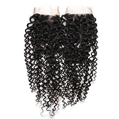 BXGZXYQ Armadura rizada brasileña Rizado de cabello humano Encaje Frontal...