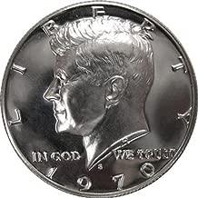 1970 S SILVER Gem Proof Kennedy Half Dollar US Coin