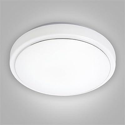 DengWu Plafonniers Lanternes LED Lampes de plafond simple moderne entrée dans le couloir d'éclairage Eclairage cuisine et salle de bain Chambre Balcon lumineux, 40cm