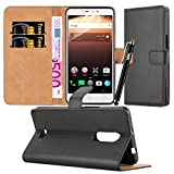 For Alcatel A3 XL Case - Wallet Book [Stand View] Card Case