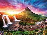 Buffalo Games - Iceland Sunset - 1500 Piece Jigsaw Puzzle