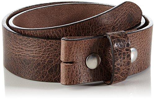 MGM Druckknopfgürtel Risorsa ceinture, Brun (braun 2), 100 cm mixte adulte