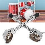 Piedini per grancassa antiscivolo 2Pcs Drum Spurs Legs per la sostituzione dello strumento a percussione