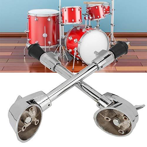 Espuelas de Bombo, Accesorio de Instrumento de percusión Antideslizante para pies de Tambor (2 Piezas)