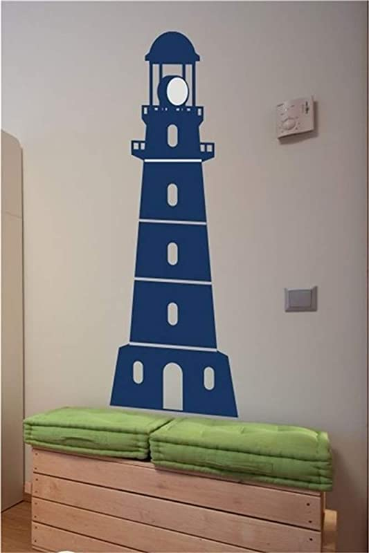 Mioawn Art Saying Lettering Sticker Wall Decoration Art Lighthouse For Nursery Kids Room Playroom
