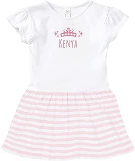 Kenya Princess Outfit: Toddler Baby Rib Dress