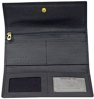 bb64403b1f9 GOLDFIX Ladies Leather Trifold Wallet. Hand Stitched. RFID Blocking. Best  Gift this Season
