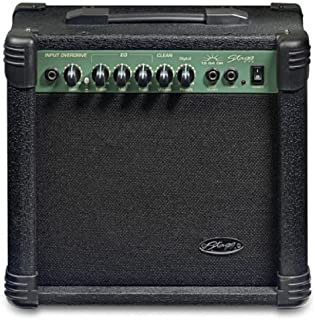 Stagg 15-Watt Guitar Amplifier with Digital Reverb - Black