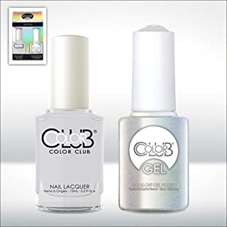 Color Club Gel Silver Lake Neutrals Color Club Gel + Lacquer Duo