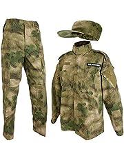 SHENKEL 迷彩服上下 パトロールキャップセット M A-TACS FG bdu-fg01-M