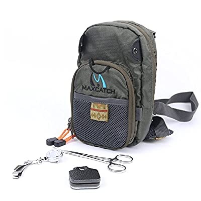 Maxcatch Fly Fishing Chest Pack Lightweight Chest Bag from Maxcatch