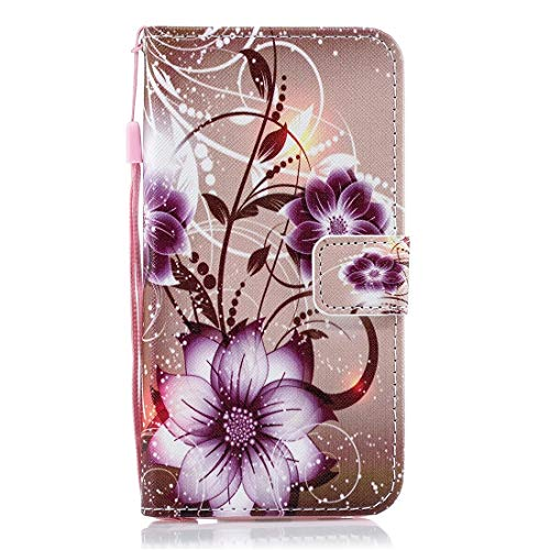 Memeti Mobile Accessories - Funda de piel con tapa para LG V40 ThinQ, con tarjetero, ranuras para tarjetas y billetera
