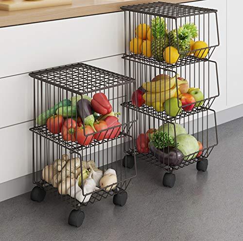 wire basket kitchen organizer - 8